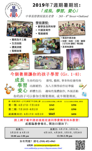 Flier in Chinese